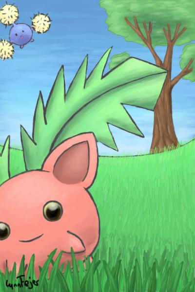Galerie de LittleUnicorn - Dans l'herbe nous trouvons des pokémons