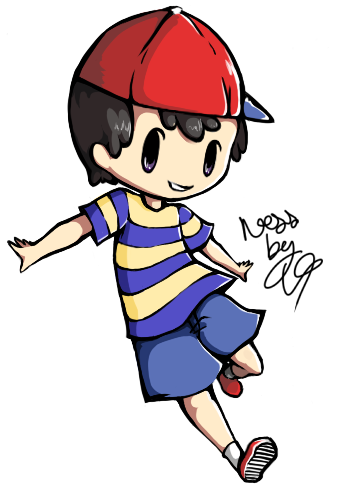 Galerie de Laurana2 - Back to school - Ness [ Mother 2 / EarthBound ]