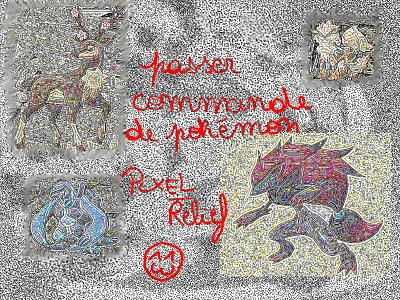 Galerie de DarkBrasegali - Passer commande de pokémon pixel/relief