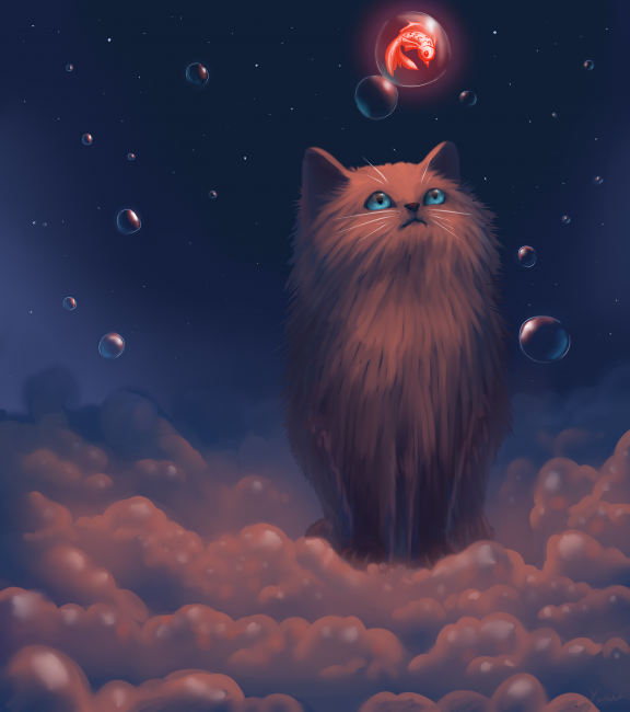 Chat bulle