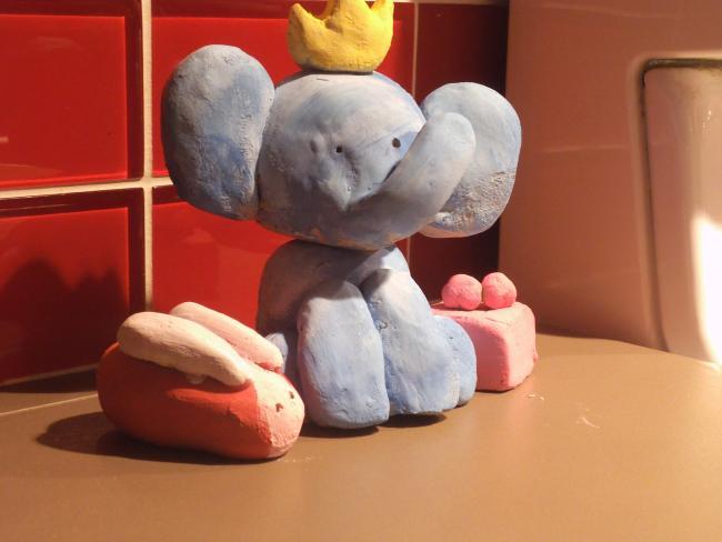 Galerie de grams - P'tit éléphant