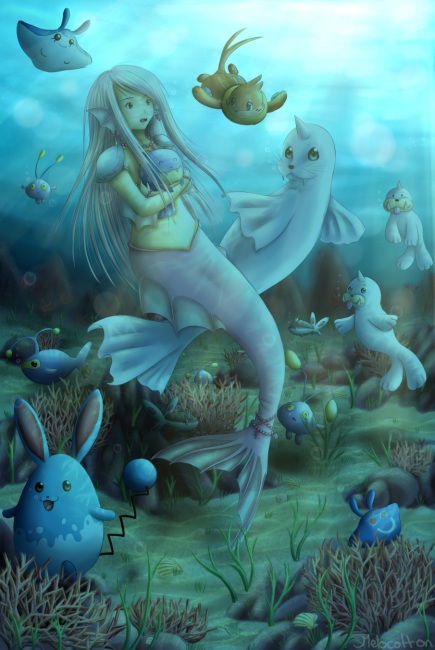 Galerie de Melocotton - underwater