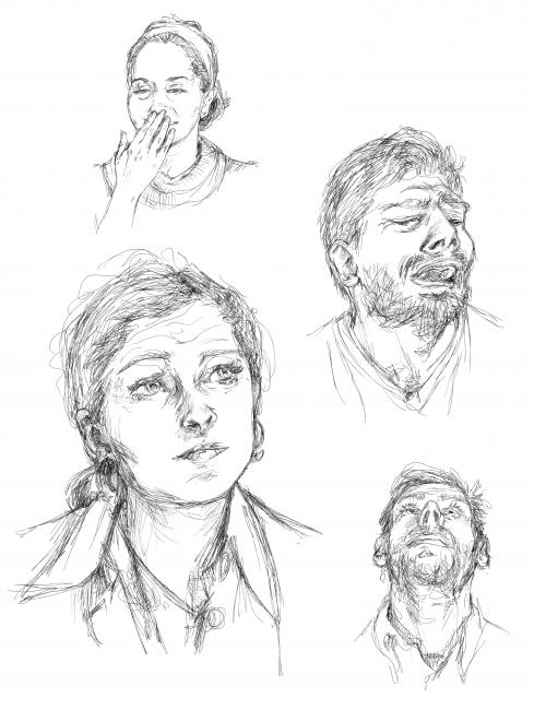 Portraits étou