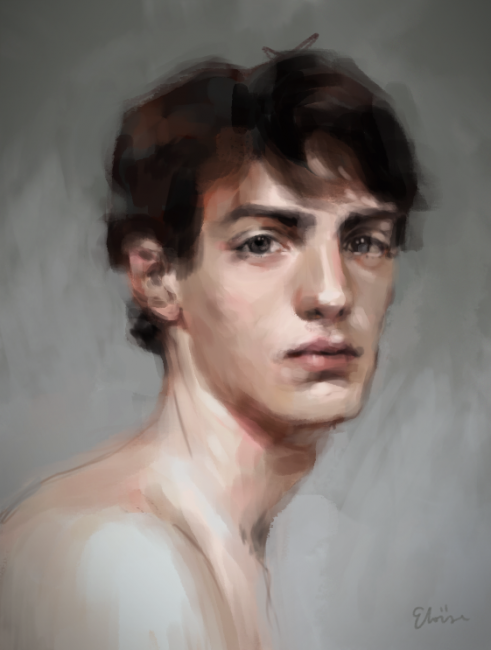 Galerie de Black_Kitsune - Portrait d'un mec tout nu je crois