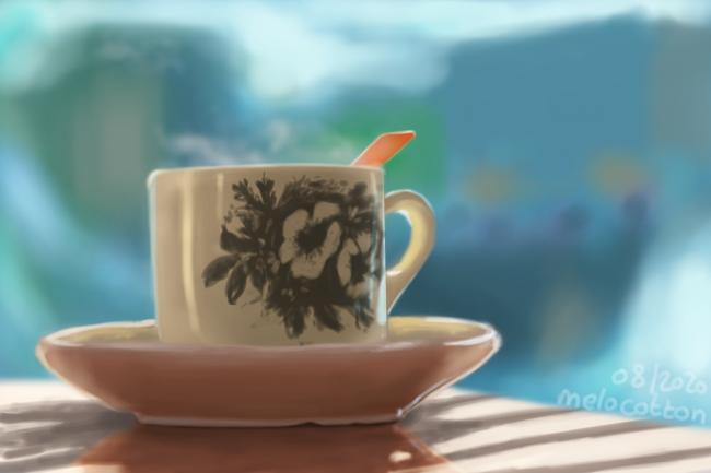 Galerie de Melocotton - une tasse lole