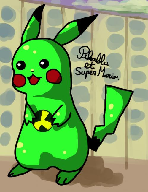 pikachu radioactif amélioré