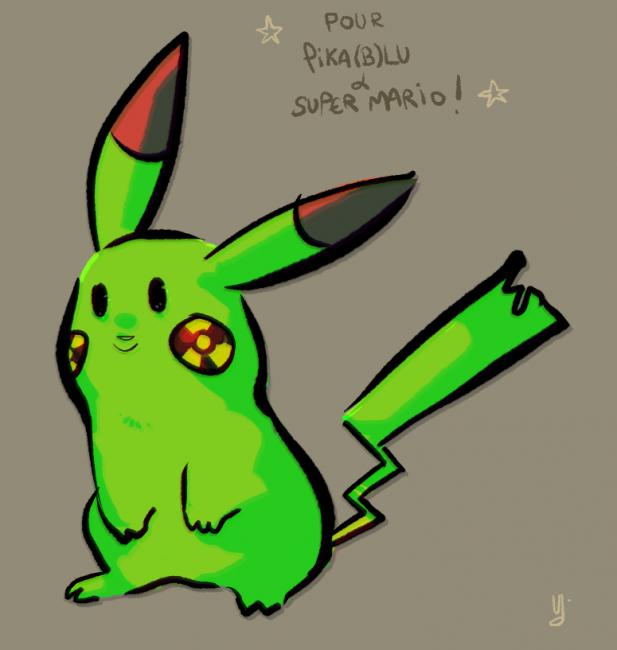 Pikachu Radioactif