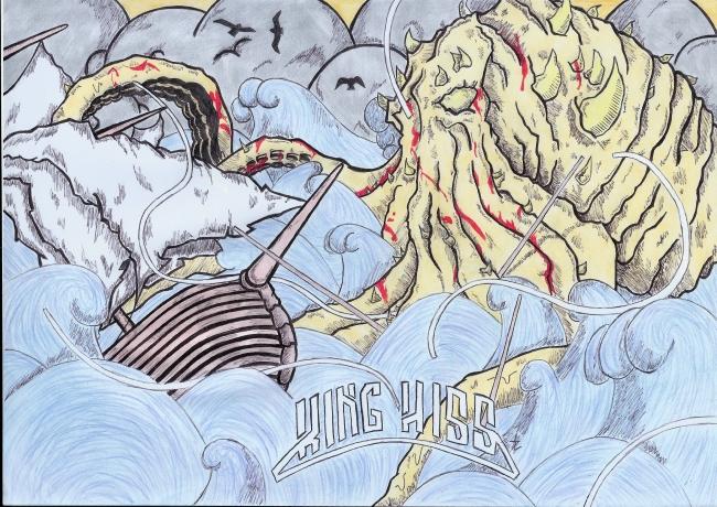 Pochette d'album : Mastosaurus de King Hiss